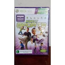 Jogo Kinect Sports - Xbox 360 - Lacrado/novo