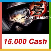 Point Blank - Cartão De 15.000 Cash - Envio Imediato