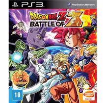 Jogo Para Ps3 Dragon Ball Z Battle Of