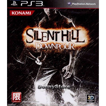 Ps3 - Silent Hill Downpour - Disco Original E Completo