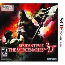 Resident Evil - The Mercenaries 3d - Americano - Lacrado!