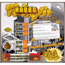 Habbo Moedas 1k = 20 Barras - Envio Imediato - Habbo Hotel