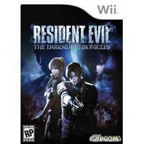 Resident Evil The Darkside Chronicles - Wii - Usado