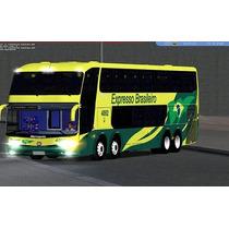 Patch Mod Bus Brasil Simulador De Ônibus - 18 Wos Pttm