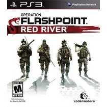 Jogo Ps3 - Operation Flashpoint: Red River