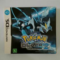 Pokemon Black Version 2 - Com Luva - Ds/dsi/3ds - Impecável!