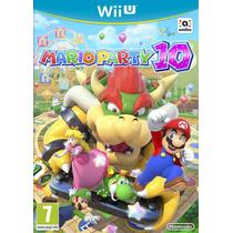 Jogo Novo Lacrado Mario Party 10 Nintendo Wii U