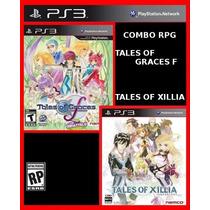 Combo Rpg Tales Of Xillia E Tales Of Graces F Ps3 Psn Oferta