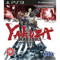 Is Jogo Ps3 Yakuza Dead Souls- E Zumbis Mídia Física Lacrado