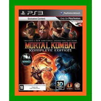 Mortal Kombat 9 Komplete Edition Ps3 Lacrado