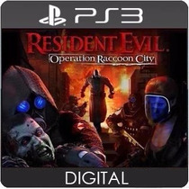 Resident Evil Operation Raccoon City Ps3 Psn Play3 Cod