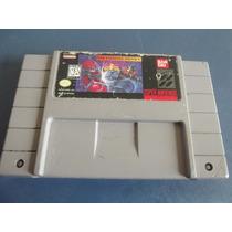 Power Ranger The Fighting Edition Super Nintendo