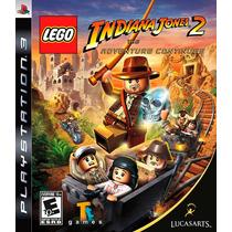 Lego Indiana Jones 2 The Adventure Continues Ps3 Lacrado