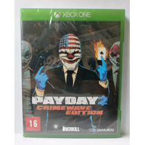 Payday 2 Crimewave Edition Jogo Xbox One Novo Mídia Fisica