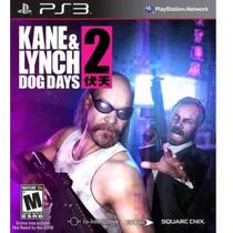 Kane & Lynch 2 Dog Days - Jogo Novo - Lacrado - Original Box