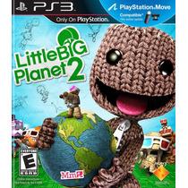 Little Big Planet 2 Frete Grátis Jogo Infantil Ps3 Sdgames