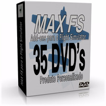Max Fs Para O Flight Simulator - 35 Dvd