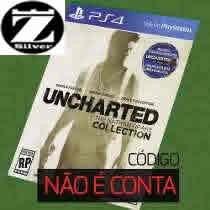 Uncharted Collection The Nathan Drake Ps4 É Código Original