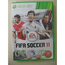 Fifa Soccer 11 Completo - Original Xbox 360 Ntsc