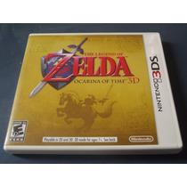 The Legend Of Zelda Ocarina Of Time 3d Original Nintendo 3ds