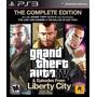 Gta Ps3 Grand Theft Auto Iv - Complete Edition - Semi Novo