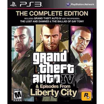 Gta Ps3 Grand Theft Auto Iv - Complete Edition - Semi Novo