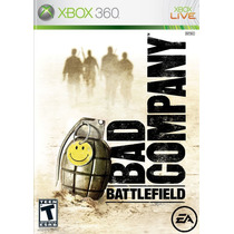 Battlefield Bad Company 1 Xbox 360 Midia Fisica Semi Novo