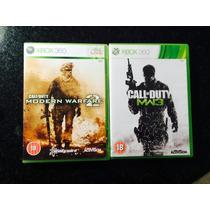 Call Of Duty Mw2 E Mw3 Para Xbox Ou Ps3 - Frete Gratis