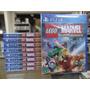 Lego Marvel Super Heroes Ps4 Novo Promoção