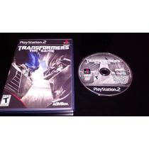 * * Jogo Ps2 Original - Transformers The Game * *