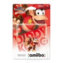 Amiibo Diddy Kong Super Smash Bros New Nintendo 3ds Wii U