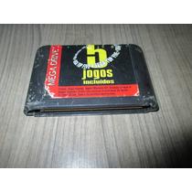 Fita Sega Top Five (5 Jogos) Mega Drive!! Original