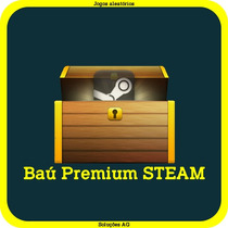 Baú Premium Steam - Jogos Aleatórios - Steam Key - Pc - Game