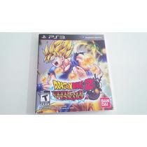 Dragon Ball Z Ultimate Tenkaichi Ps3 Usado