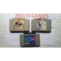 Bomber Man + Fifa 98 + Adptador Para Nintendo 64