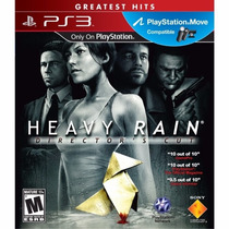 Heavy Rain - Ps3 Legendado Pt-pt Midia Física