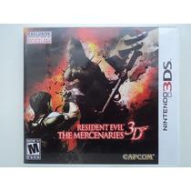 Resident Evil - The Mercenaries 3d - Americano-ótimo Estad