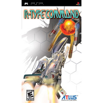 Jogo R- Type Command Para Playstation Portatil A5654