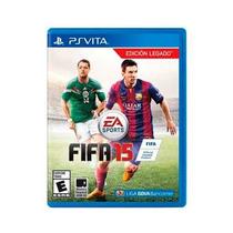 Jogo Fifa 15 Soccer 2015 Ps Vita Psvita Original Lacrado