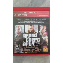 Jogo * Grand Theft Auto Iv: The Complete Edition - Ps3 *