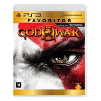 God Of War 3 Ps3 Gow 3 Mídia Física Lacrado