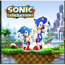 Sonic Generations Jogos Ps3 Código Psn