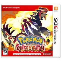 Jogo Nintendo 3ds Game Pokemon Omega Ruby Novo Lacrado