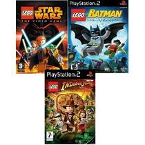 Games Lego Play Station 2 (kit 3 Jogos Ps2) Frete Grátis