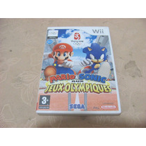 Mario E Sonic Jogos Olimpicos Cd Wii Original