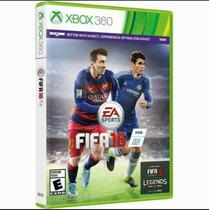 Jogo Fifa 16 Original Xbox 360 Novo