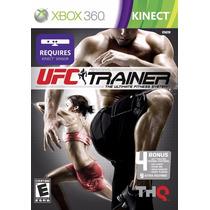 Jogo Original Xbox 360 Kinect Ufc Trainer Frete 10r$