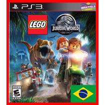 Lego Jurassic World Park Ps3 Psn Dublado Portugues Br