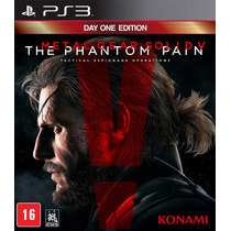 Metal Gear Solid V 5 The Phantom Pain Ps3 12x Sem Juros