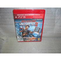 Jogo Ps3 / Uncharted 2 Ótimo Estado, Frete Barato
